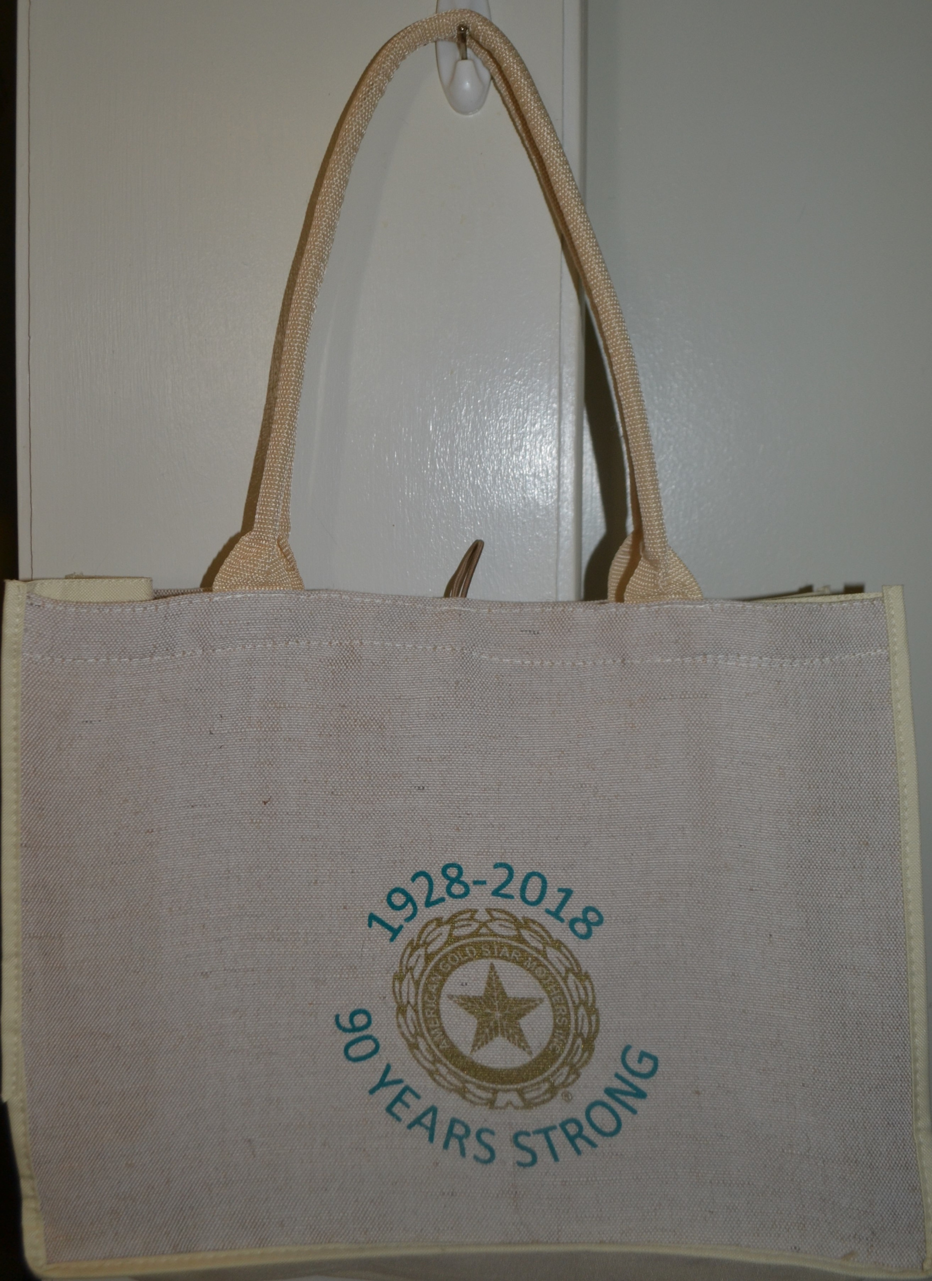 90 Years Strong Tote Bag
